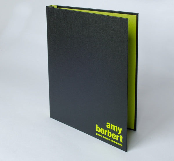 17x11 Custom Presentation Portfolio Book