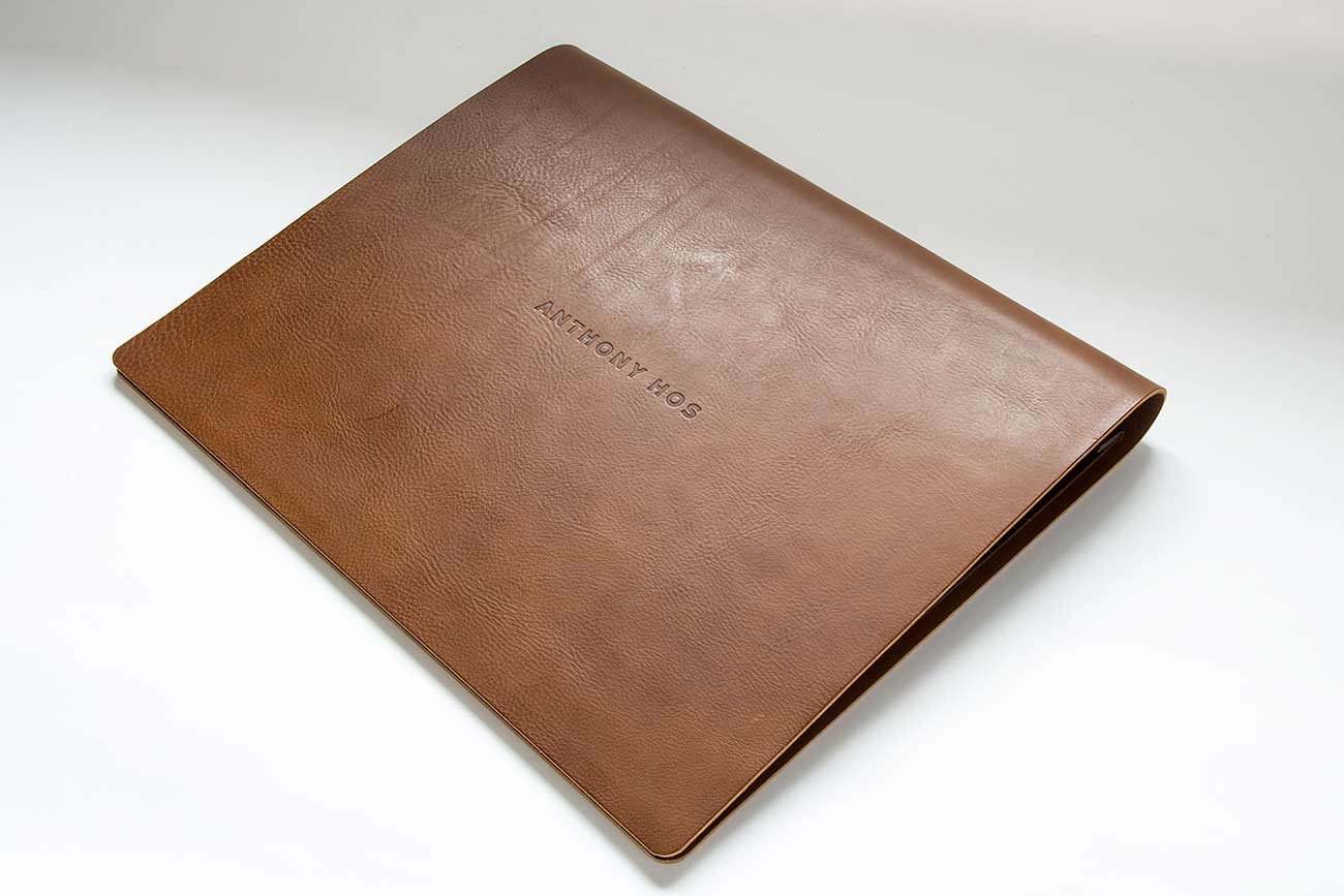 Engraved Leather Photo Album Custom Made Wedding Albums Personalized