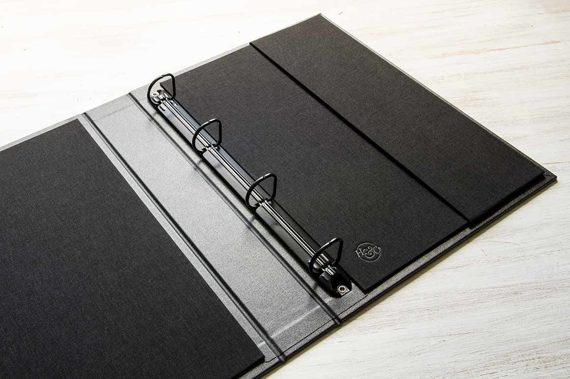 A4 Portrait Ring Binder by H&Co