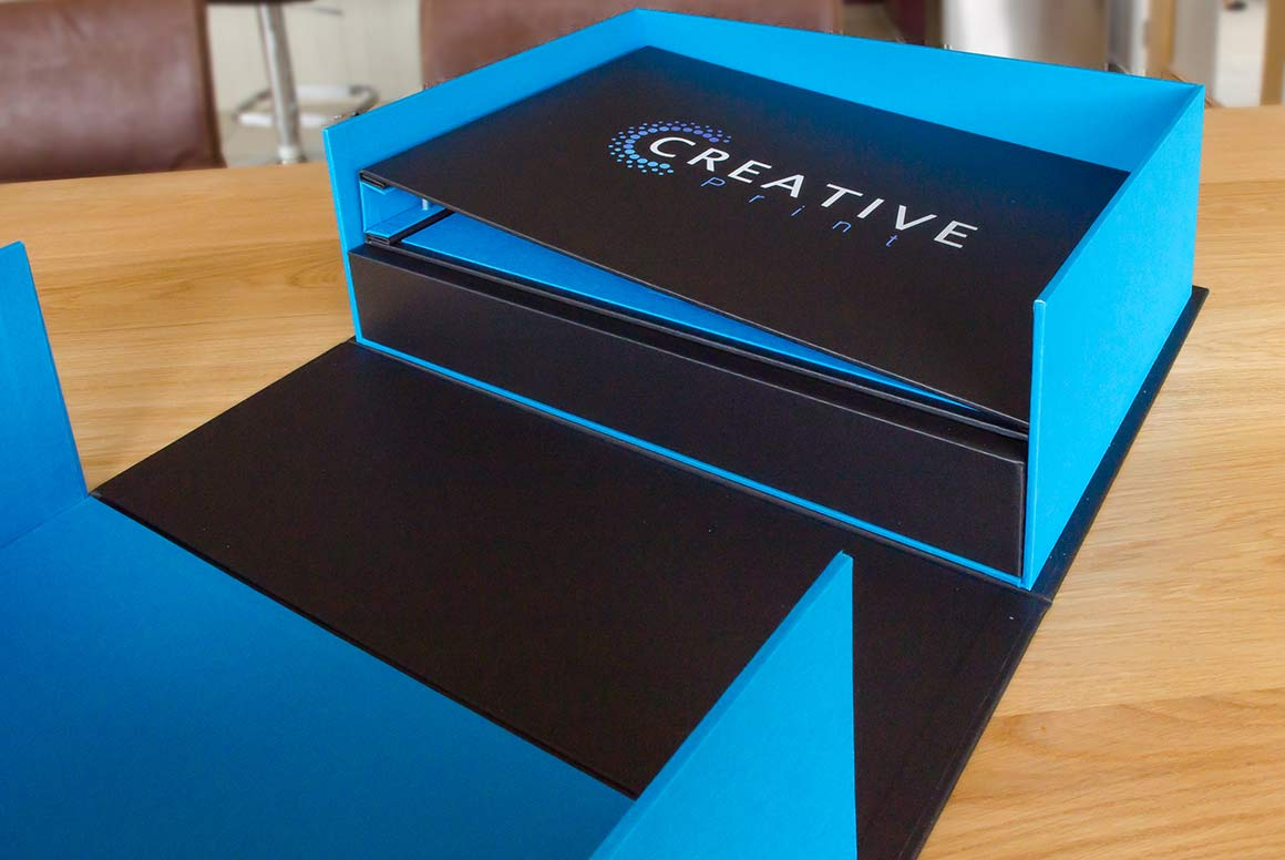 Large A3 Bespoke Clamshell Archive Box