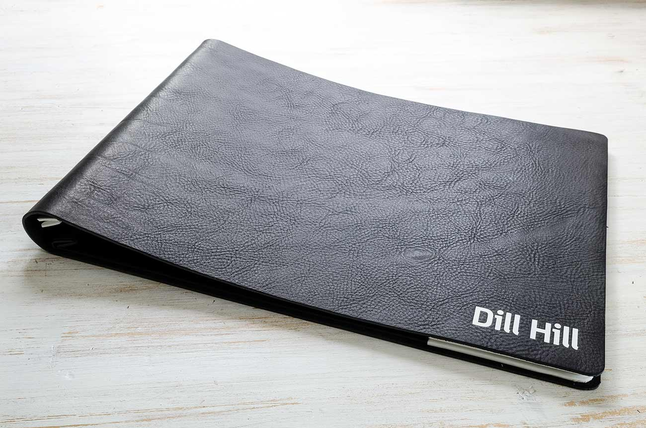 Leather Graphic Designers Custom Portfolio Binder