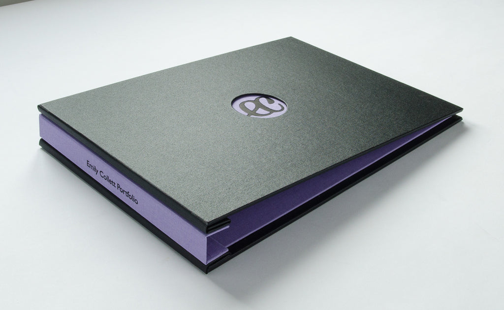 student presentation portfolio with special personalisation