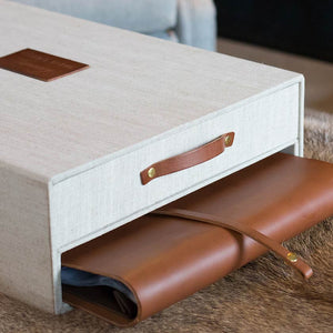 keepsake memory box with leather album