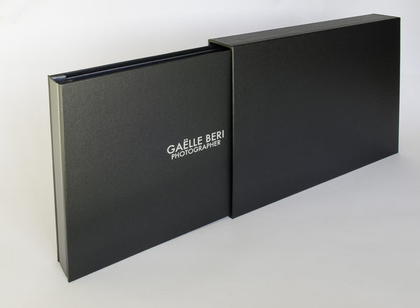 Music Photographers A3 Presentation Portfolio and Slip Case