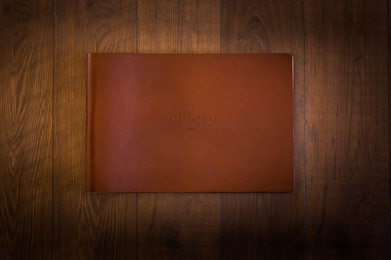 Photographers Leather Photography Portfolio Book