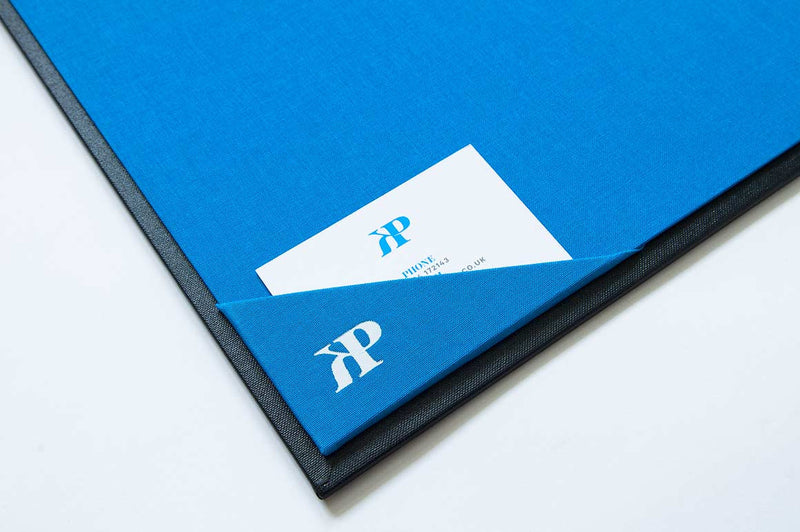 H&Co Business Card Pocket in Presentation Portfolio