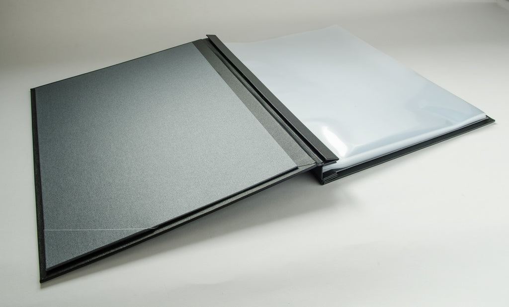 A3 Portrait Presentation Portfolio Binder with Plastic Page Protector Sleeves