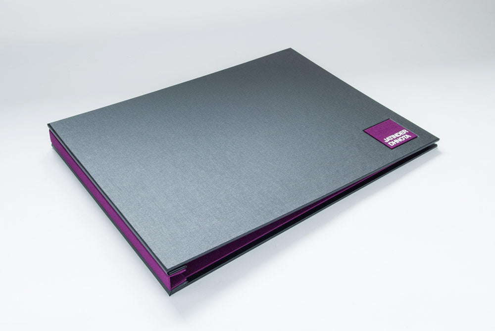 Custom Presentation Display Portfolio Book