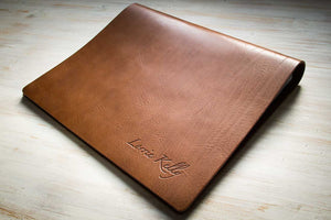 personalised leather photography portfolio book