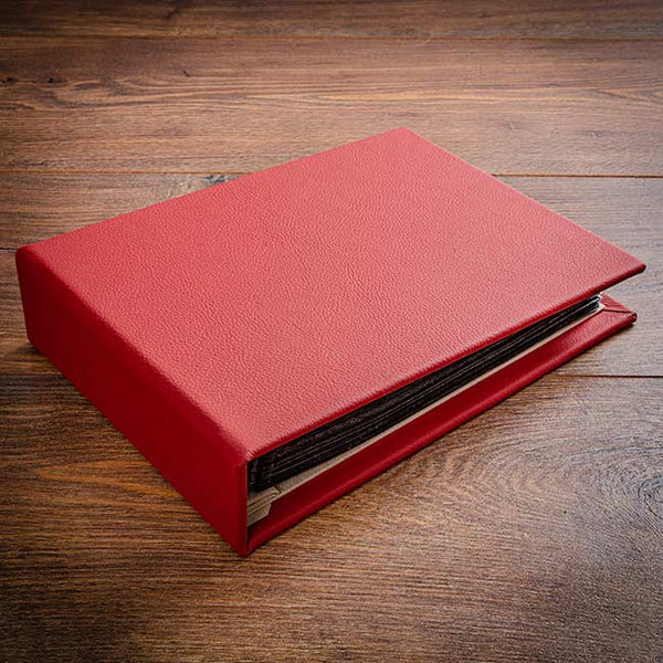 leather bound custom binder