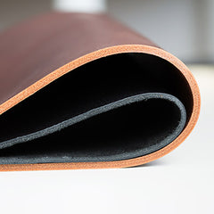 portfolio leather thickness curved