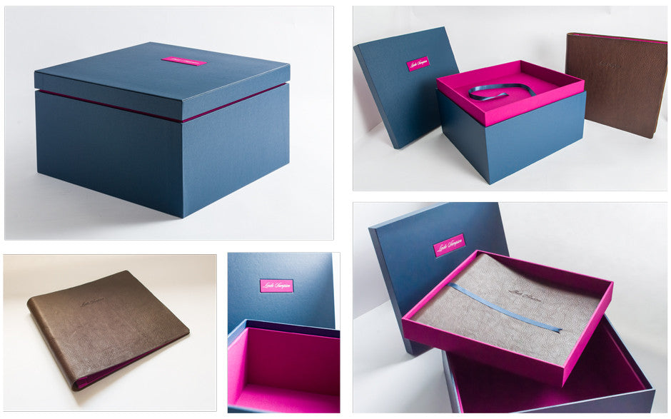Bespoke Memory and Keepsake Box with Family Album
