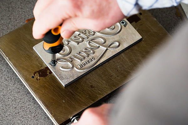 metal personalisation die for hartnack and co