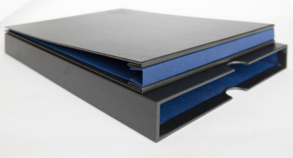 Architects A3 Presentation Portfolio Binder and Clamshell Box