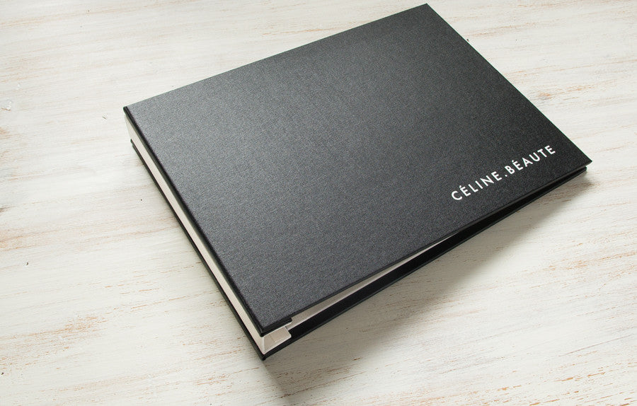 Custom Landscape Presentation Binder in Black