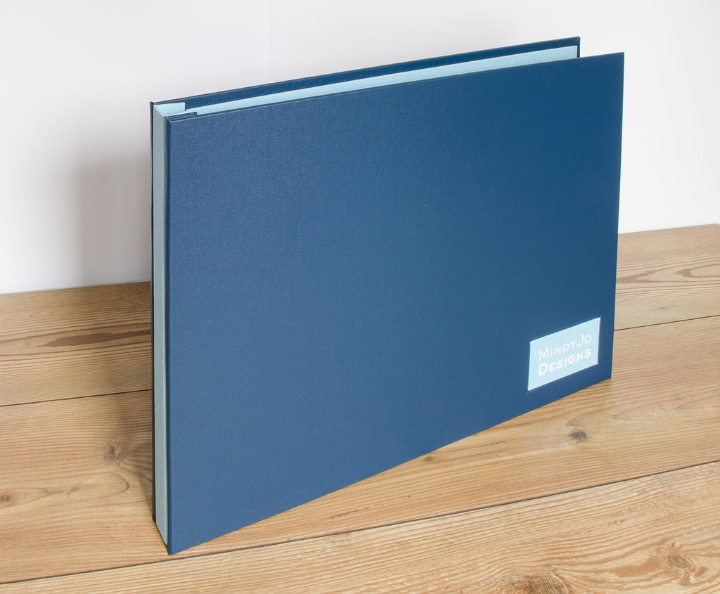 "11"" x 17"" Presentation Display Portfolio Binder Book Customized"