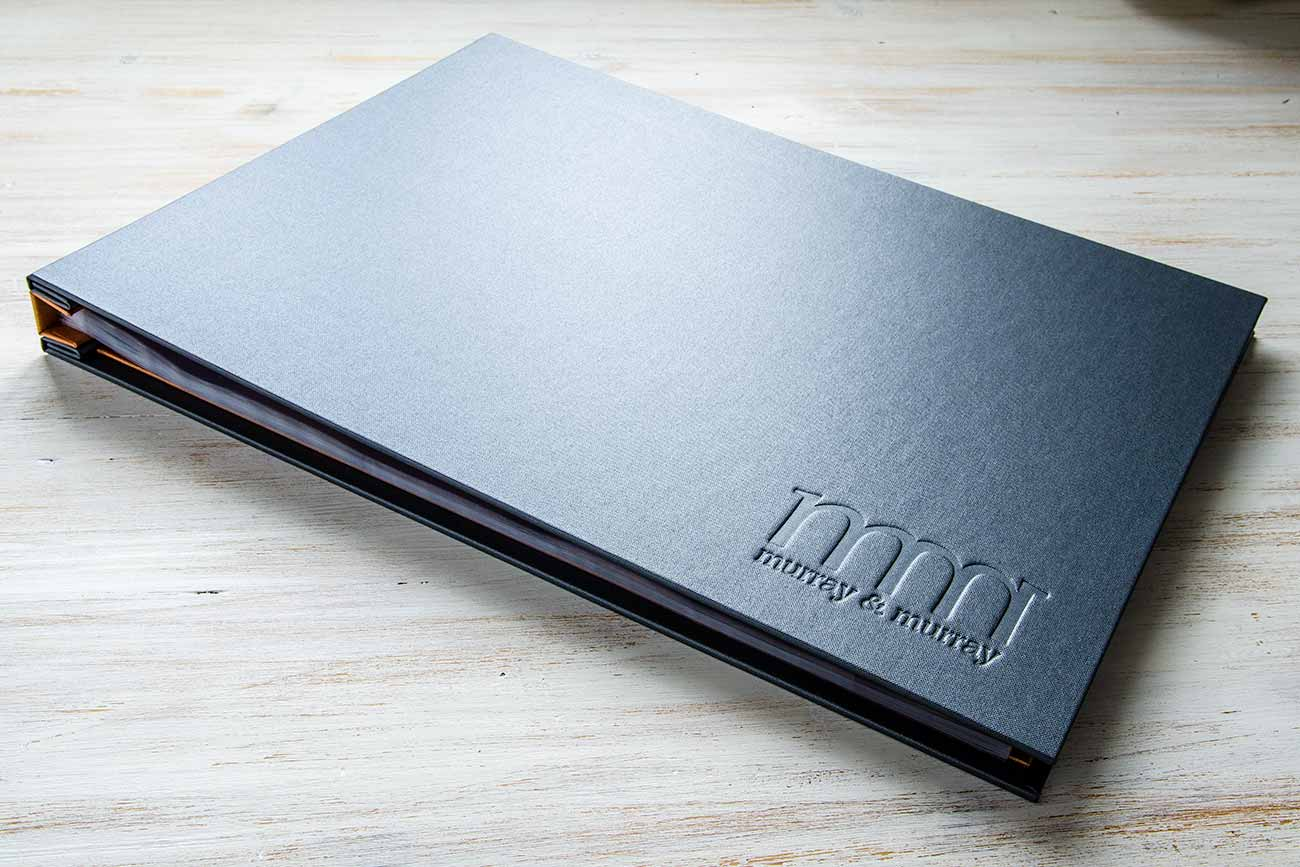 Presentation Display Binder Portfolio for prestigious kitchen design company