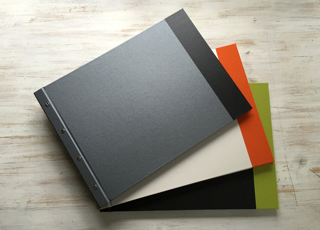 Stylish end off year student presentation portfolio folder books