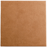 beige brown faux leather portfolio and box cover material