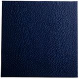 dark blue faux leather portfolio and box cover material