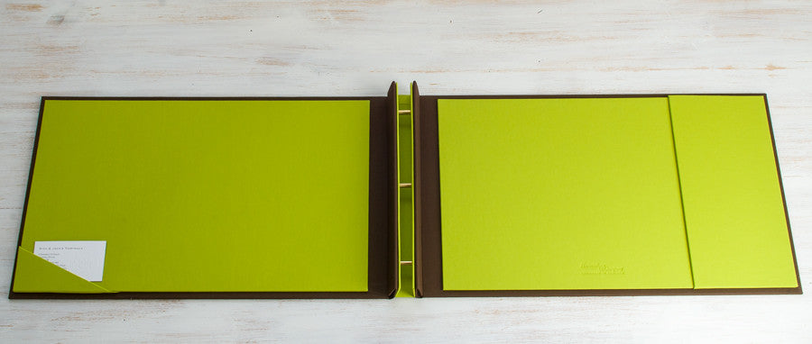 "11"" x 17"" Screw Post Binder with Pocket"