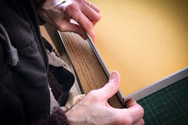 slipcase being handmade