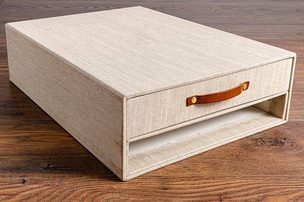 slipcase with drawer box