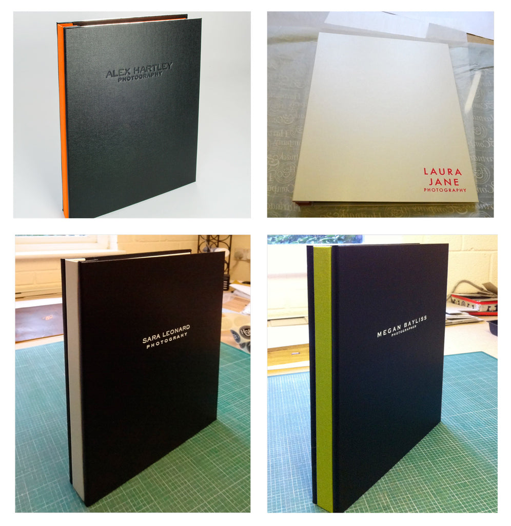 UCLAN Photography Students A4 Presentation Portfolio Binders