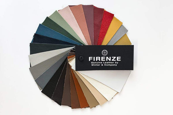 Firenze leather swatch for bespoke albums
