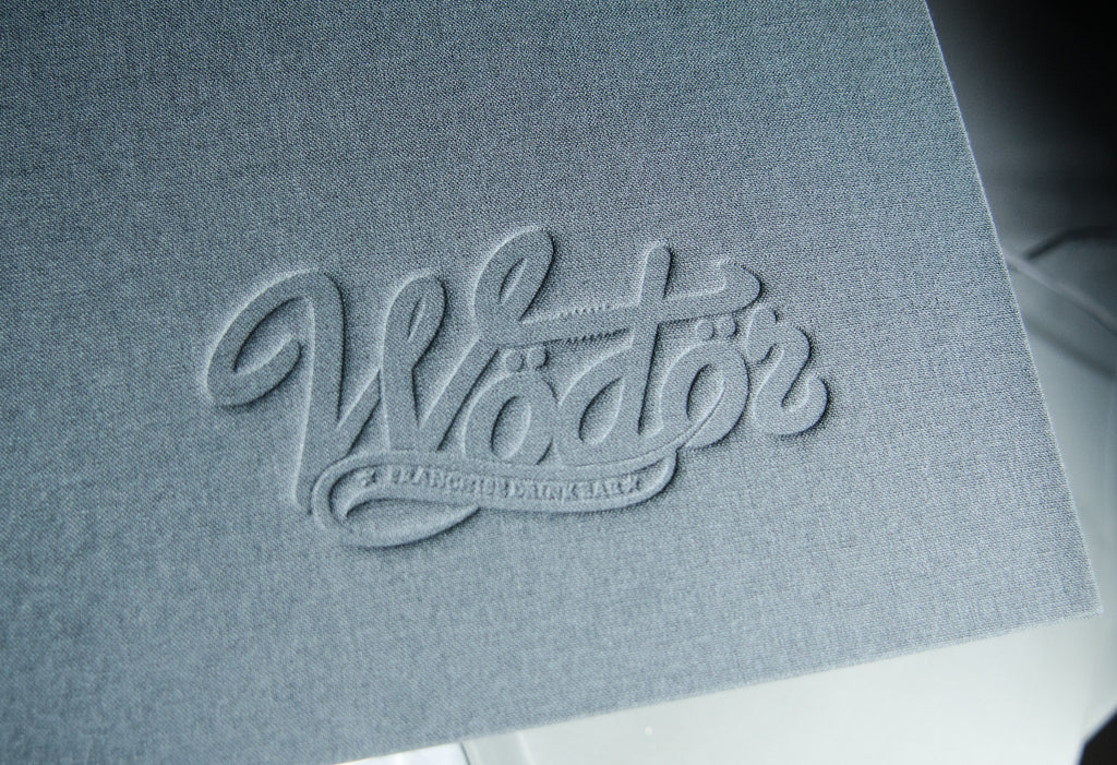 Embossing Image on H&Co presentation binder