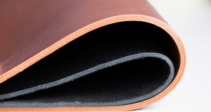 image of leather used by hartnack and co for portfolio and albums