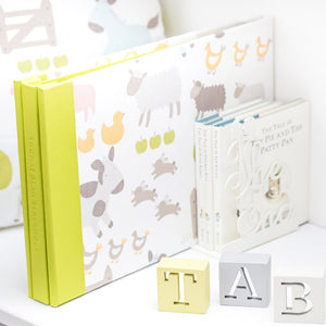 custom baby scrapbook album