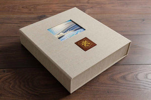 portfolio box for art dealer