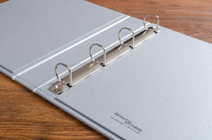 The recipe binders have a very good quality 4mm D ring binder mechanism