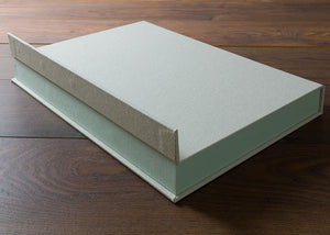 Ring Binder Half Clamshell Box