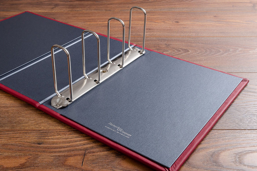 Bespoke Personalised Medical Portfolio (Ring Binder Mechanism)