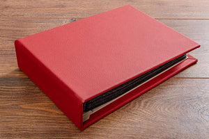 Personalised Leather Bound Portfolio and Album