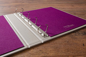 Ring Binder Visitors Book Personalised