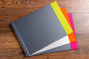 a3 landscape design photography portfolio book multi colours h&co
