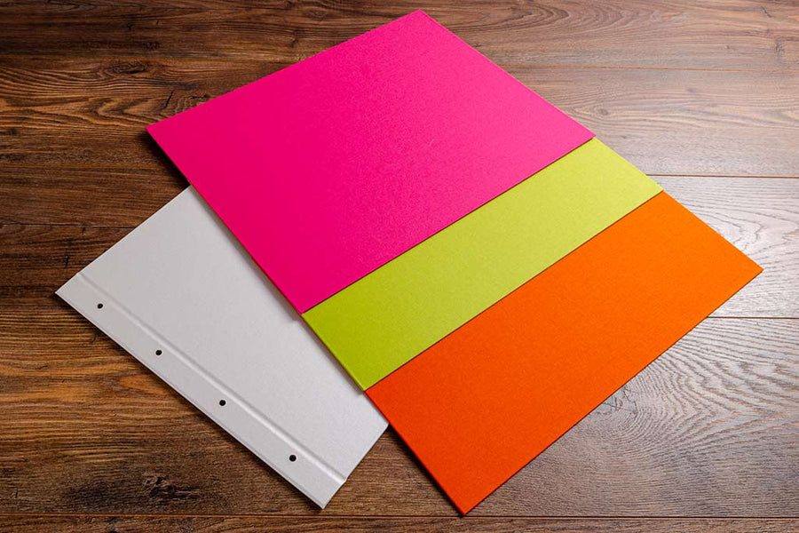 Personalised a3 landscape design photography portfolio book multi colours UV Printed h&co