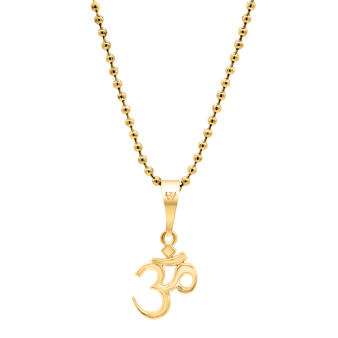 Aum Necklace - Gold