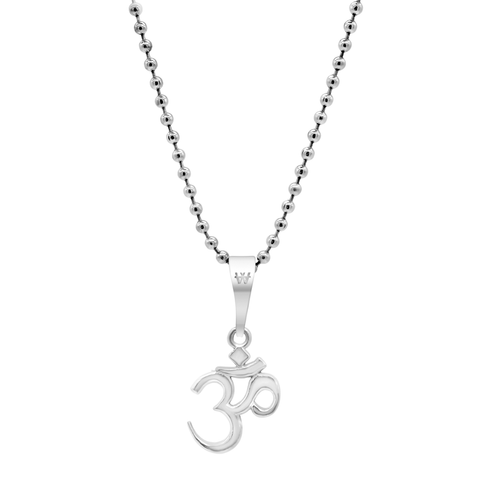 Aum Necklace - Silver