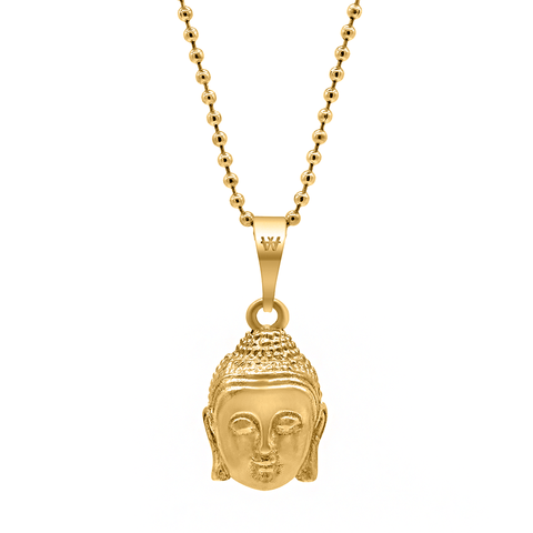 Buddha Necklace - Gold