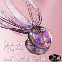 Hand Painted Jewelry - Purple Butterflies Are Free - Original Designs by Cathy Kraemer