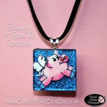 Hand Painted Jewelry - When Pigs Fly - Original Designs by Cathy Kraemer