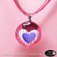 Hand Painted Jewelry - Heart To Heart - Original Designs by Cathy Kraemer