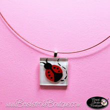 Hand Painted Jewelry - Ladybug - Original Designs by Cathy Kraemer