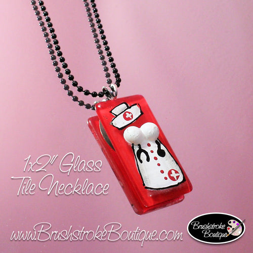 Hand Painted Jewelry - Nurse Dress - Original Designs by Cathy Kraemer
