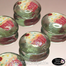 Hand Painted Glass Gems - Cupcakes - Original Designs by Cathy Kraemer