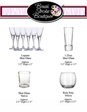 Hand Painted Shot Glasses - Nurses Call The Shots - Original Designs by Cathy Kraemer